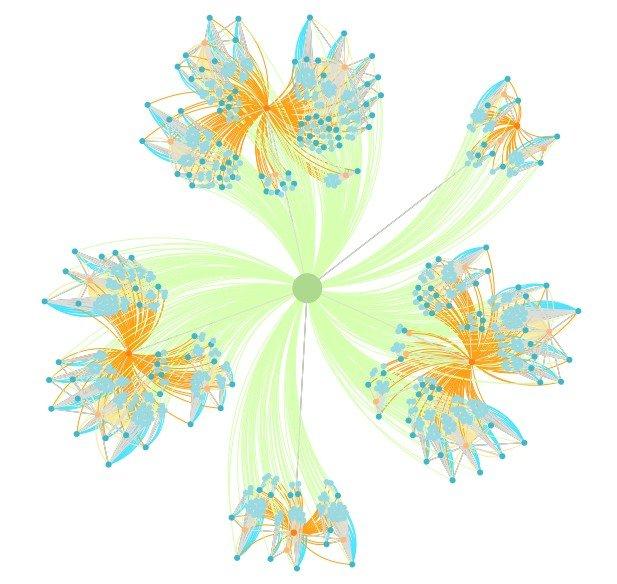 visualisation cocon semantique